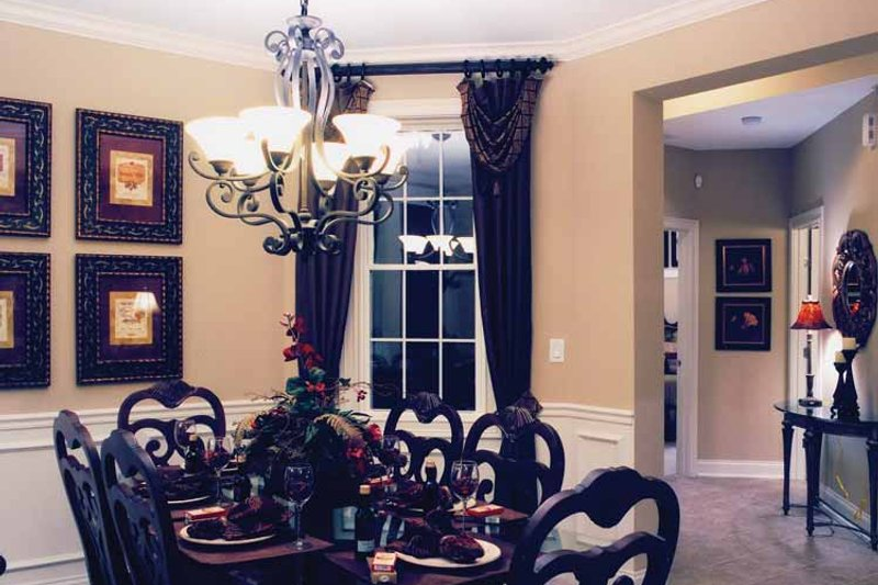 Craftsman Interior - Dining Room Plan #46-652 - Houseplans.com