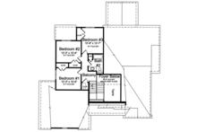 Country Floor Plan - Upper Floor Plan Plan #46-867