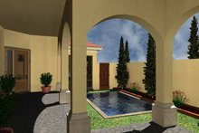 Mediterranean Exterior - Rear Elevation Plan #930-430