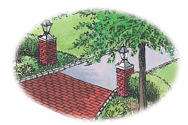 Classical Exterior - Front Elevation Plan #1040-15 - Houseplans.com