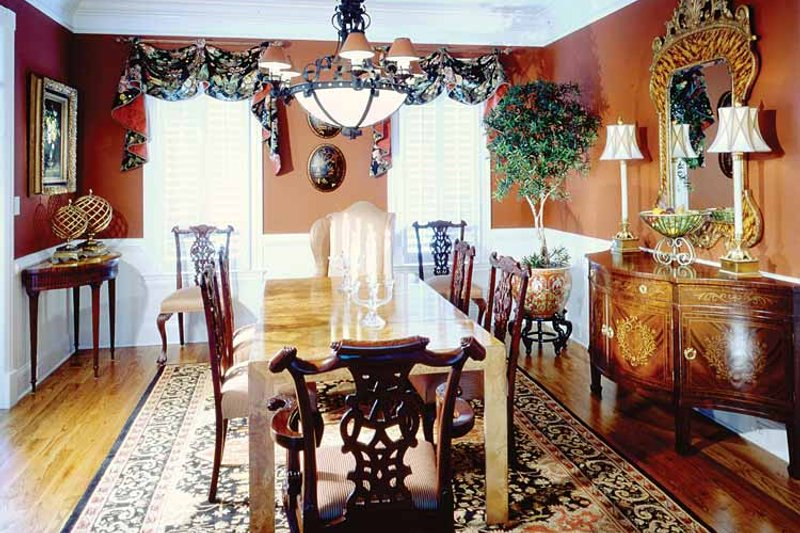 Classical Interior - Dining Room Plan #429-85 - Houseplans.com