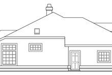 Home Plan - Mediterranean Exterior - Other Elevation Plan #124-412