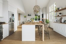 House Blueprint - Farmhouse Photo Plan #23-2746