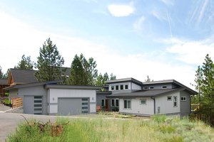Contemporary Exterior - Front Elevation Plan #895-8