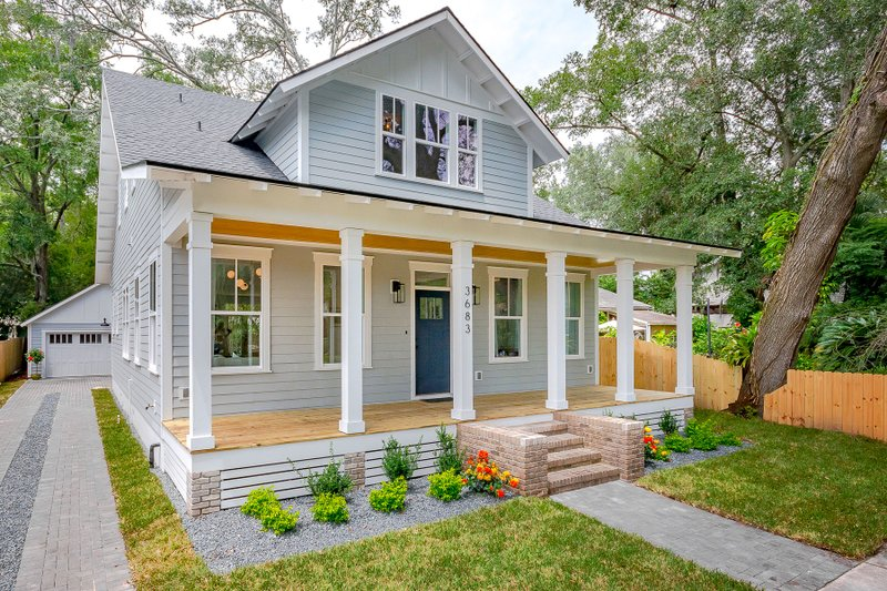 Home Plan - Craftsman Exterior - Front Elevation Plan #461-73