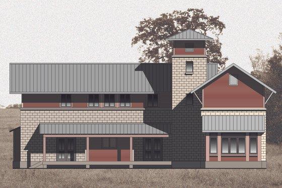 Farmhouse Exterior - Front Elevation Plan #531-2