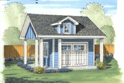 Traditional Style House Plan - 0 Beds 0 Baths 151 Sq/Ft Plan #455-13 Exterior - Front Elevation
