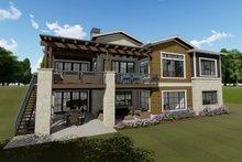 Farmhouse Exterior - Rear Elevation Plan #1069-20