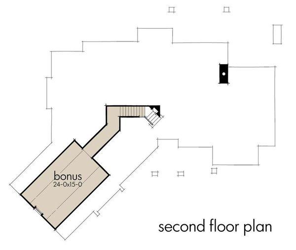 Craftsman Floor Plan - Other Floor Plan #120-193