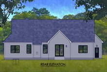 Farmhouse Exterior - Rear Elevation Plan #1010-244