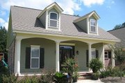 Country Style House Plan - 4 Beds 3 Baths 2500 Sq/Ft Plan #21-192 Exterior - Front Elevation