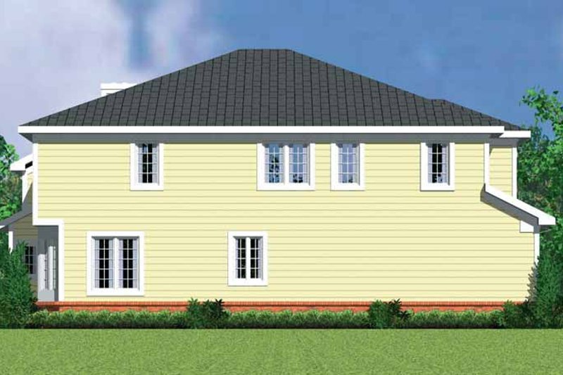 Country Exterior - Other Elevation Plan #72-1128 - Houseplans.com
