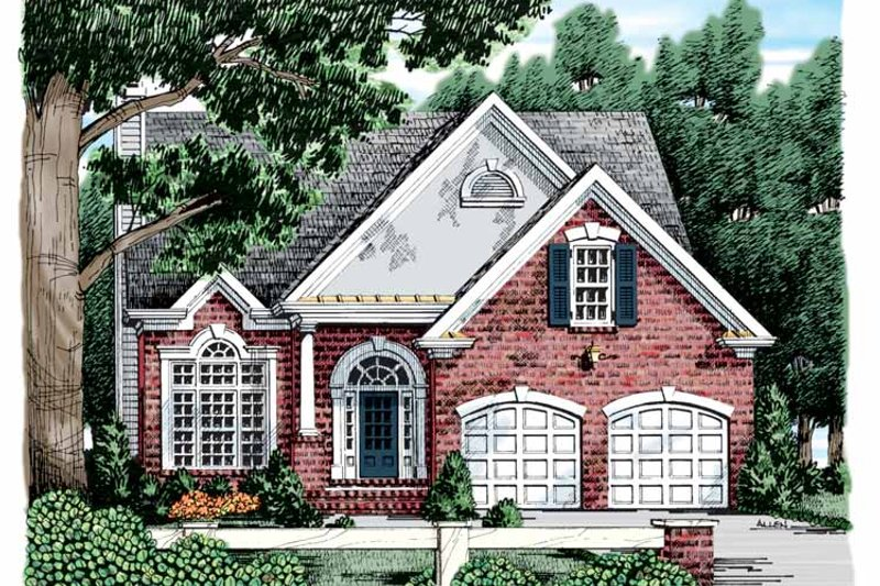 Country Exterior - Front Elevation Plan #927-563 - Houseplans.com