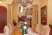 Mediterranean Style House Plan - 3 Beds 4.5 Baths 4509 Sq/Ft Plan #1058-14 Interior - Dining Room