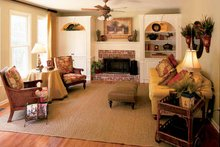 House Plan Design - Colonial Interior - Family Room Plan #927-872