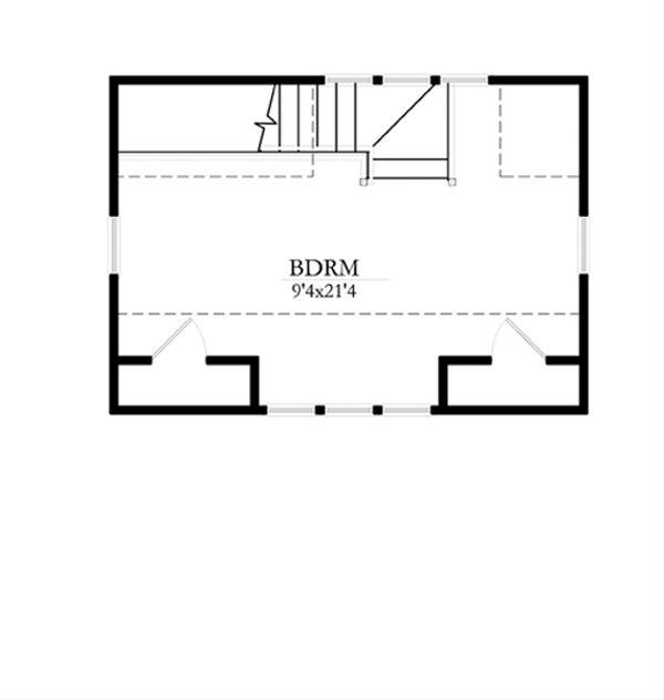 Cottage Floor Plan - Upper Floor Plan Plan #514-8