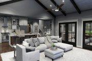 Farmhouse Style House Plan - 3 Beds 2.5 Baths 1742 Sq/Ft Plan #120-270 Interior - Family Room