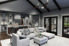 Home Plan - Farmhouse Interior - Family Room Plan #120-270