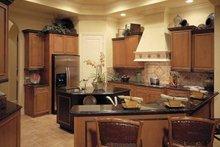 Mediterranean Interior - Kitchen Plan #930-322
