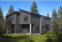 Dream House Plan - Contemporary Exterior - Rear Elevation Plan #1066-71