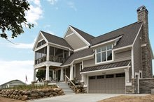 Home Plan - Contemporary Exterior - Front Elevation Plan #928-274