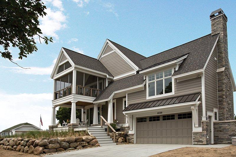 Contemporary Exterior - Front Elevation Plan #928-274 - Houseplans.com