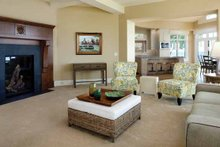 Country Interior - Family Room Plan #928-233