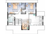 Country Style House Plan - 3 Beds 2 Baths 1508 Sq/Ft Plan #23-2471 Floor Plan - Upper Floor