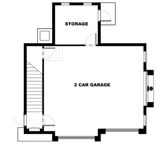 Home Plan - Mediterranean Floor Plan - Main Floor Plan #1017-116