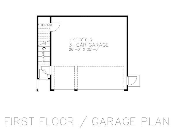 House Plan Design - Detached Garage