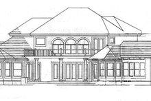 Dream House Plan - European Exterior - Rear Elevation Plan #1007-2