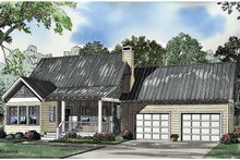 House Plan Design - Craftsman Exterior - Front Elevation Plan #17-3036