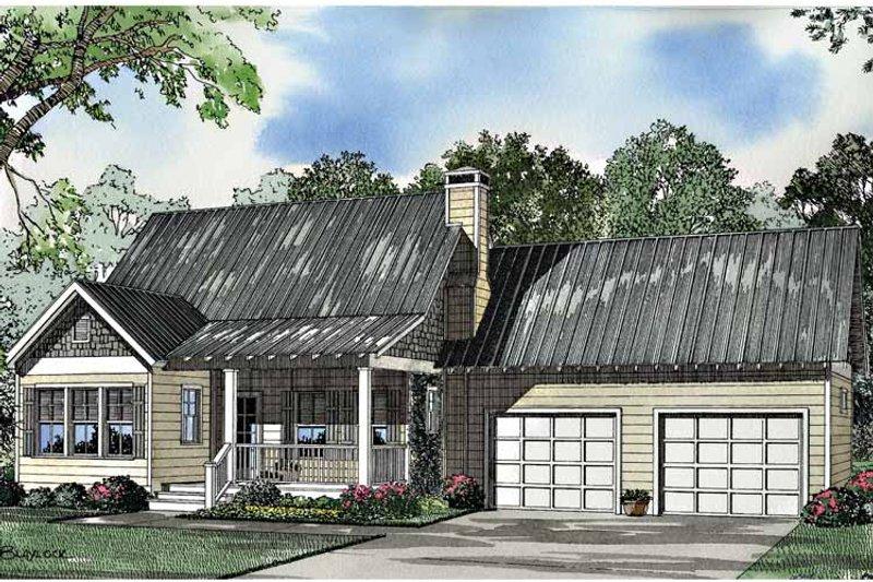Craftsman Exterior - Front Elevation Plan #17-3036 - Houseplans.com