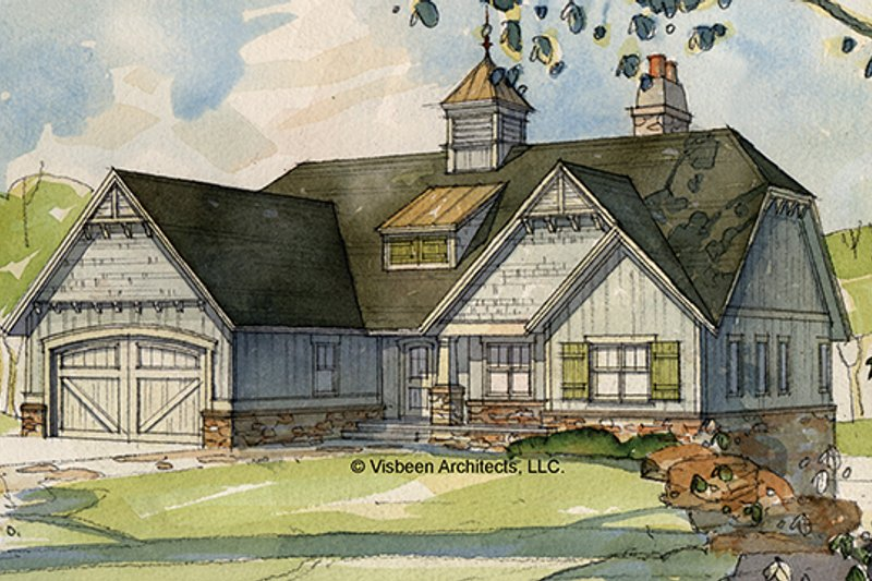 House Design - European Exterior - Front Elevation Plan #928-103