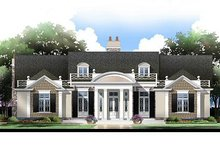Home Plan - Classical Exterior - Front Elevation Plan #119-158
