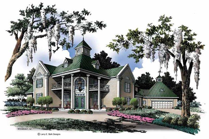 Classical Exterior - Front Elevation Plan #952-123 - Houseplans.com