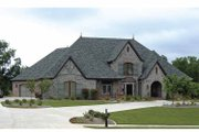 Cottage Style House Plan - 4 Beds 3.5 Baths 4626 Sq/Ft Plan #11-279 Exterior - Front Elevation