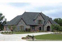 Cottage Exterior - Front Elevation Plan #11-279