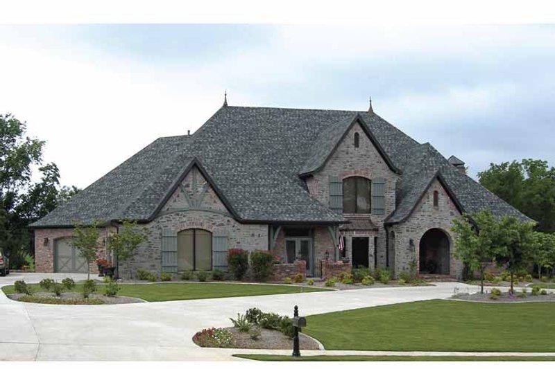 Cottage Exterior - Front Elevation Plan #11-279 - Houseplans.com