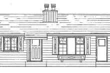 Ranch Exterior - Front Elevation Plan #47-1033