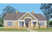 House Plan Design - Craftsman Exterior - Front Elevation Plan #1029-62
