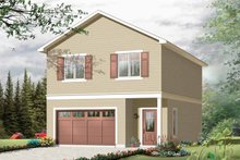 Home Plan - Traditional Exterior - Front Elevation Plan #23-2420