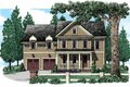 Country Style House Plan - 4 Beds 2.5 Baths 2066 Sq/Ft Plan #927-946 Exterior - Front Elevation