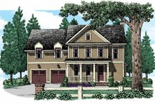 House Plan Design - Country Exterior - Front Elevation Plan #927-946