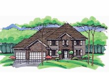 House Plan Design - Traditional Exterior - Front Elevation Plan #51-1028