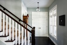 Traditional Interior - Entry Plan #928-299