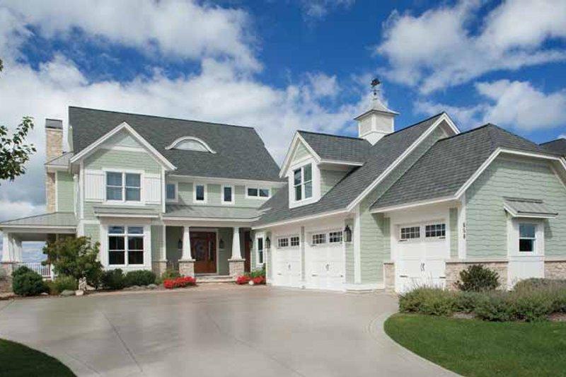 Craftsman Exterior - Front Elevation Plan #928-229 - Houseplans.com