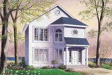Traditional Exterior - Front Elevation Plan #23-2114