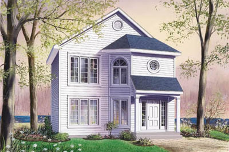 Dream House Plan - Traditional Exterior - Front Elevation Plan #23-2114