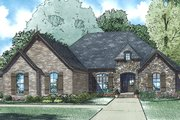 European Style House Plan - 3 Beds 2.5 Baths 2360 Sq/Ft Plan #17-3389 Exterior - Front Elevation